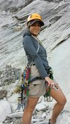 Rock Climbing Photo: Top of the Grack, Yosemite Valley