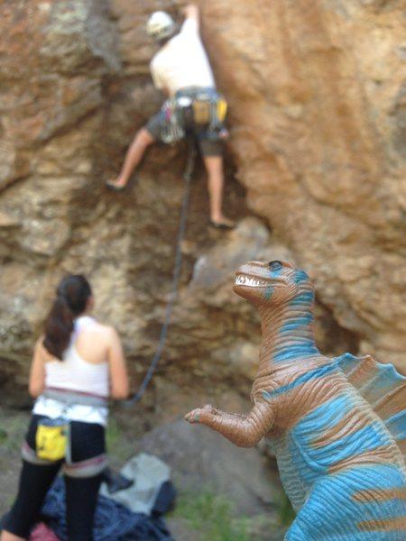 Rock Climbing Photo: A fun climb.