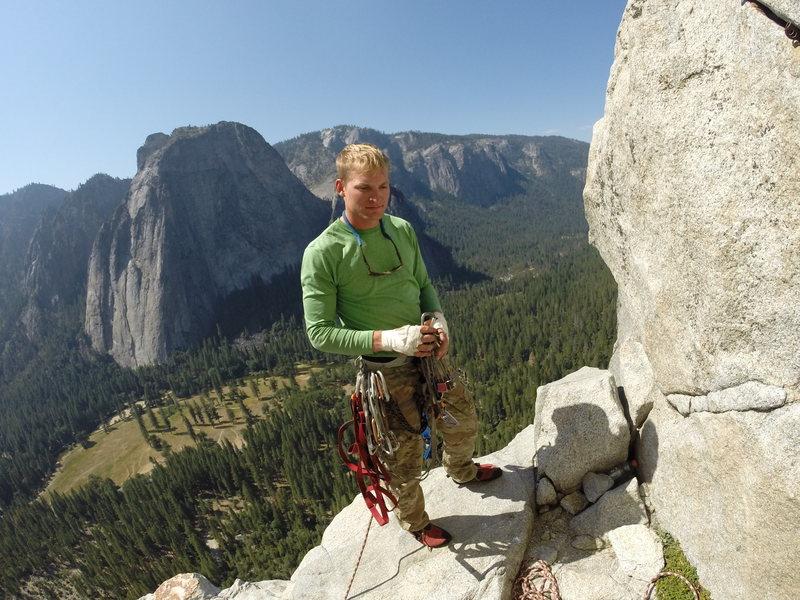 Rock Climbing Photo: El Cap, Salathe