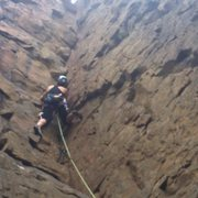 Rock Climbing Photo: Leading :)