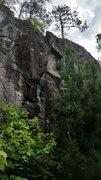 Rock Climbing Photo: The defining capped stem box