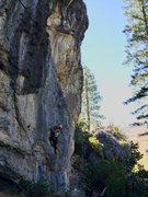 Rock Climbing Photo: Jules