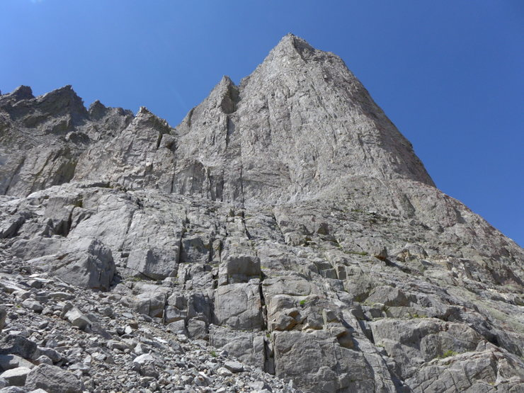 Temple Crag from 21 June 2015