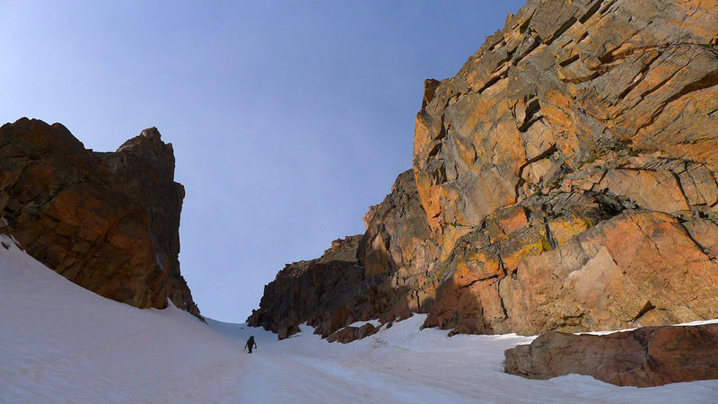 Rock Climbing Photo: Beautiful, friendly couloir.