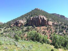 Rock Climbing Photo: Wolcott Navajo Band East.