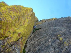 Rock Climbing Photo: One of Hallett's best pitches!