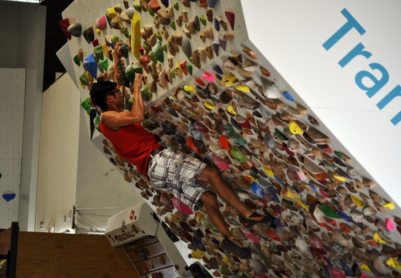 Rock Climbing Photo: The Origin Woody is one of the best training walls...