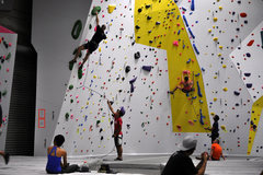 Origin also has over 90 routes on its 30' tall roped walls- including lead climbing, 6 auto belays, and top ropes.