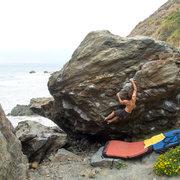 Rock Climbing Photo: Mickey's Beach