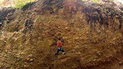 Rock Climbing Photo: Ethan Screams