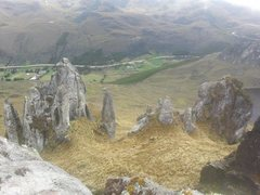 Rock Climbing Photo: First area in Cajas before entering the park.  Pul...