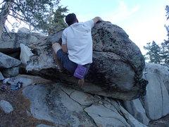 Rock Climbing Photo: Now serving.