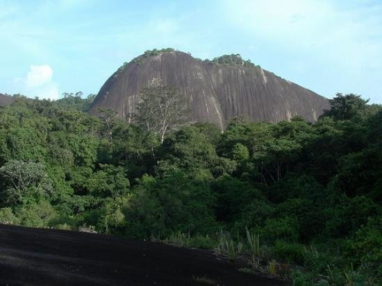 Voltzberg, one of (2) potential climbing areas in Suriname