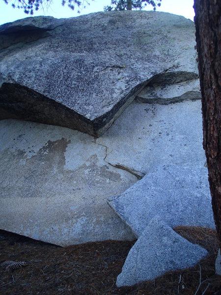 Rock Climbing Photo: Center