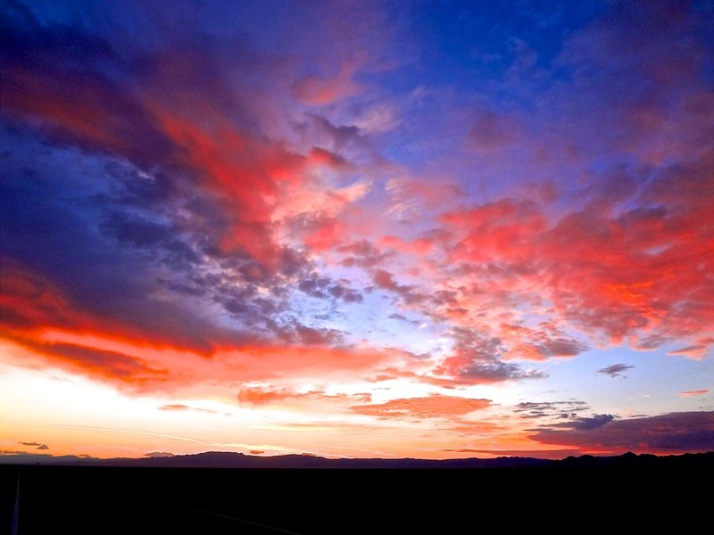 Rock Climbing Photo: Sunrise after driving all night from Colorado as w...