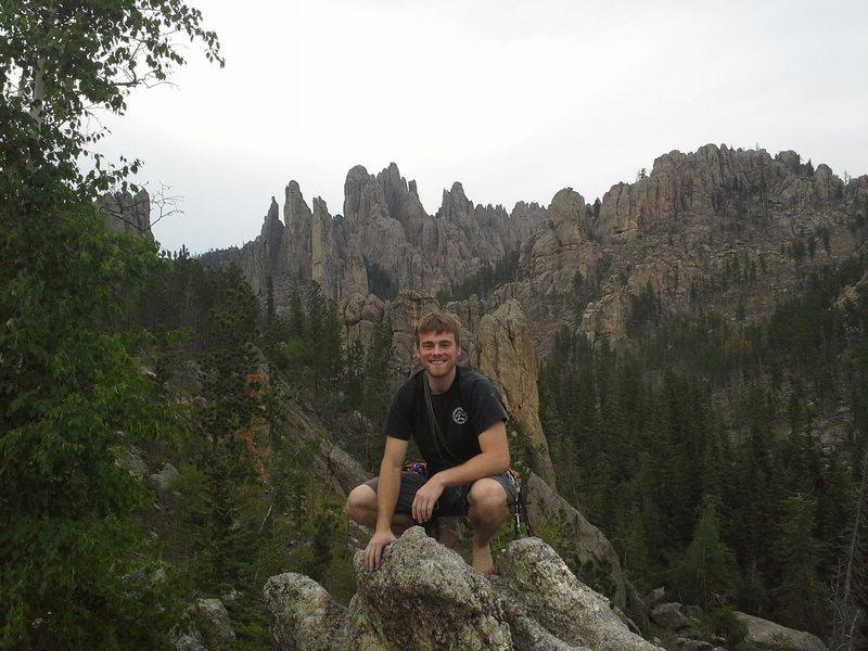 First trad climbing trip