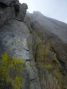Rock Climbing Photo: A magical, slightly rainy day on MGA.  Misty and s...