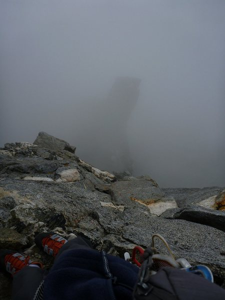 Rock Climbing Photo: Looking down at the First Tower?  Ibrium Tower?