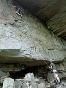 Rock Climbing Photo: MUST make first and second clips or a fall will mo...