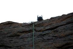 Rock Climbing Photo: The Dark Knight in Jurassic Park.