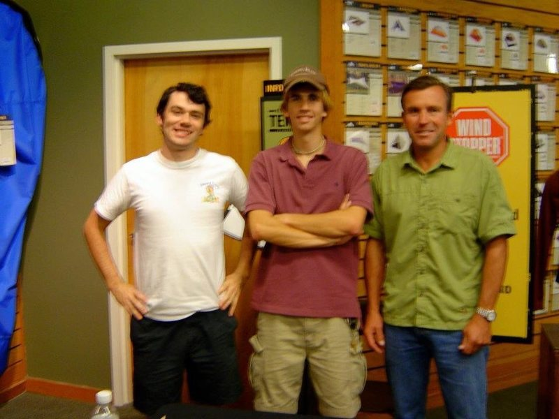 Rock Climbing Photo: That time we met Ed Viesturs in Atlanta and the ph...
