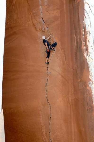 Rock Climbing Photo: Attempting (unsuccessfully mostly) to rest.  Photo...