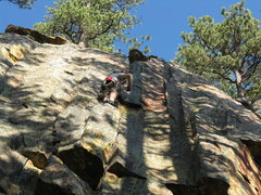 Rock Climbing Photo: TCU crack