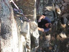 Rock Climbing Photo: TCU Dihedral