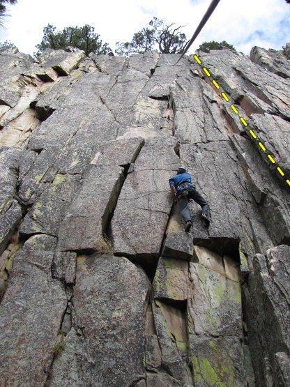 Rock Climbing Photo: Crap Route
