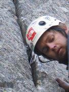 Rock Climbing Photo: Right Job Corps Crack
