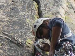 Rock Climbing Photo: Job Corps Left Crack