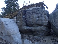 Rock Climbing Photo: Short face.