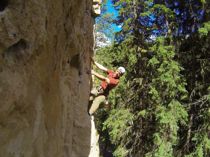 Rock Climbing Photo: Sticky Icky, 5.9
