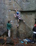 Rock Climbing Photo: Beginning of vultures.