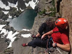 Rock Climbing Photo: Petite Grepon 06/23/2015