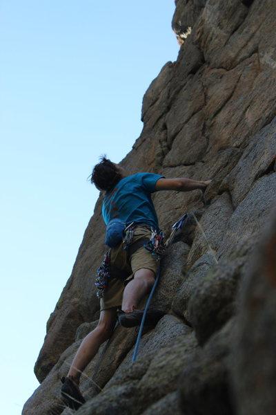 Rock Climbing Photo: Seth climbing Cold Snap.
