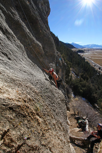 Rock Climbing Photo: Slabwork