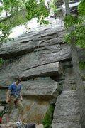 Rock Climbing Photo: Start of V3