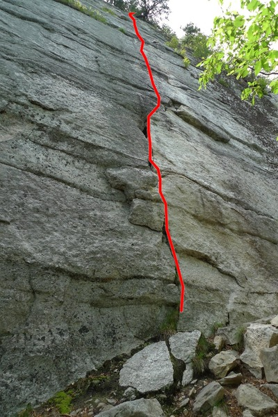 Rock Climbing Photo: Absurdland