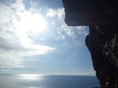Rock Climbing Photo: Breathtaking views await you at Vistamar.