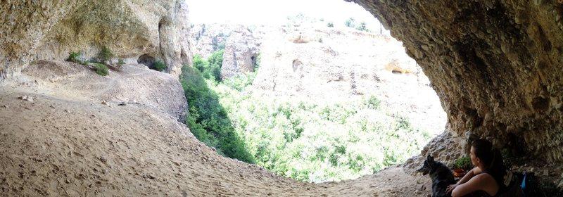 Rock Climbing Photo: Pano shot