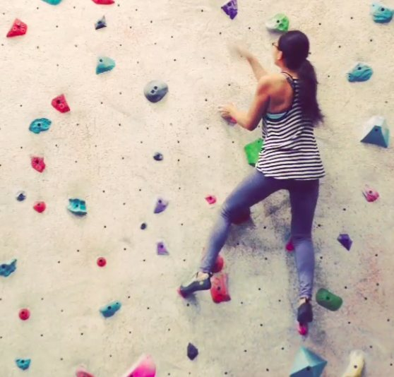 Rock Climbing Photo: At Inspire Rock Gym, Houston, Texas