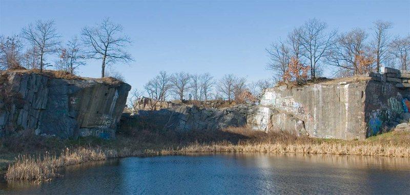 Rock Climbing Photo: Swingle's Quarry.