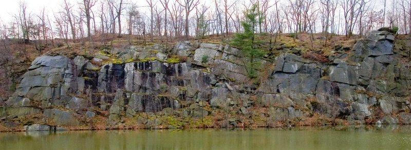 Rock Climbing Photo: A wall overview.