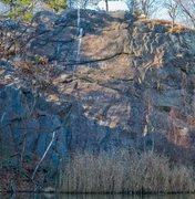 Rock Climbing Photo: B Wall overview.