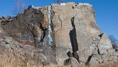 Rock Climbing Photo: J Wall overview.