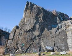 Rock Climbing Photo: K Wall overview.
