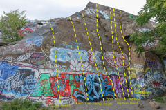 Rock Climbing Photo: S Wall topo.