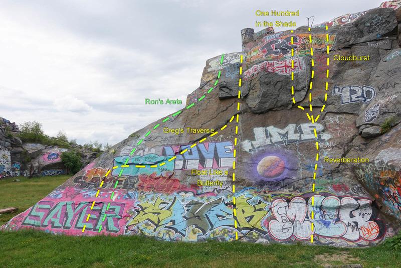 R Wall topo - left.
