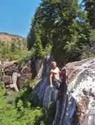 Rock Climbing Photo: sendface